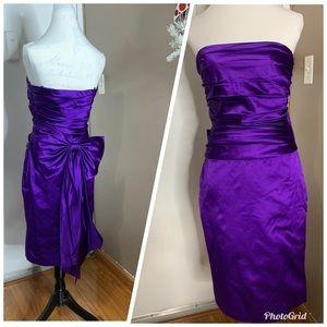 Ralph Lauren 100% Silk Cocktail Dress size 6